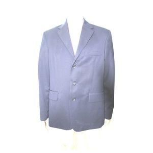 Mens J Crew Suit Jacket Size 42 R Dark Blue